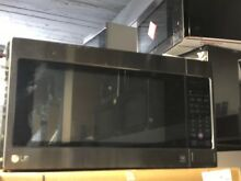 LG LCRT2010BD 24  Black Stainless Counter Top Microwave Read