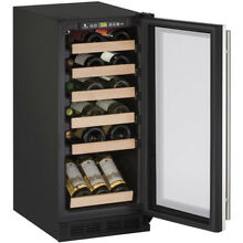 U Line 15  Undercounter 1215WCS 00B Wine Fridge 23 Bottle WAS   1 799 00