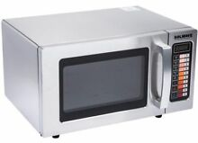 Commercial Countertop Microwave Oven 1000W Durable Stainless Steel Oven  9 Cu Ft