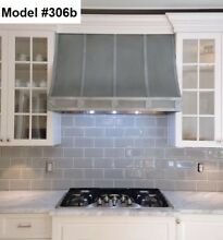 Custom Zinc Range Hood Incl  Motor  La Cornue Or La Canche Hood   Model  306b