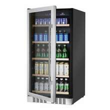 334 cans Glass Door Upright Beverage Refrigerator   KBU 270B
