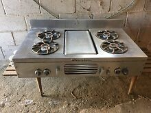 Chambers cooktop oven and hood