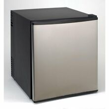 1 7 cu  ft  Superconductor Mini Refrigerator in Stainless Steel with AC DC Adapt