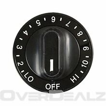 W10116766 Jenn Air Cooktop Knob Switch