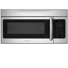 Frigidaire Stainless Steel 1 6 cu ft Electronic Control Over The Range Microwave