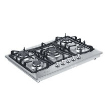 30  Tempered Glass   Stainless Steel Gas Stove Cooktop