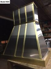 Custom Metal Vent Hood Includes Motor  Cornu Fe Or La Canche Hood   Model  301