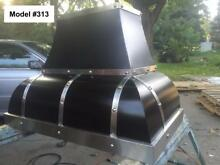 Custom Metal Range Hood Incl  Motor  Cornu Fe Or La Canche Hood   Model  313