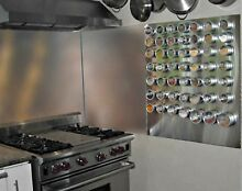 Stainless Steel Backsplash Hemmed Edges Range Hood Wall Shield 36in x 23 25in