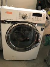 Samsung white front load washer  working
