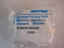 New old stock maytag dishwasher soap dish  bi metal release  kit
