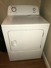 Amana Washer   Dryer  White Used