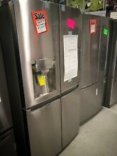 LG   22 7 Cu  Ft  Counter Depth Refrigerator   Stainless Steel  LNXC23726S