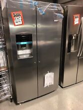 Frigidaire GALLERY Stainless 26 Cubic Foot Side By Side Refrigerator FGHS2655PF