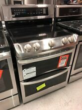LG LDE4413ST Electric Range Double Oven with ProBake Convection Stainless Steel