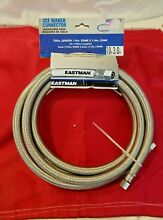 EASTMAN ICE MAKER CONNECTOR  10 FT  0247028  SEALED IN PACKAGE  NEVER USED