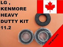 LG FRONT LOAD WASHER 2 TUB BEARINGS   SEAL LG Kenmore KIT   11 2   MDS62058301