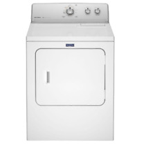 Maytag 7 0 cu  ft  120 Volt White Gas Vented Dryer with Wrinkle Control