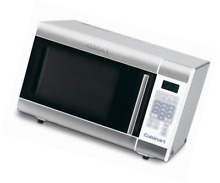 Cuisinart CMW 100FR 1 Cubic Foot Stainless Steel Microwave Oven  Silver  Certifi