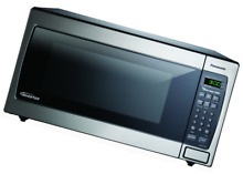 Panasonic NN SN773SAZ Stainless 1 6 Cu  Ft  Countertop Built In Microwave with I