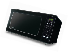Panasonic NN SN733BAZ Black 1 6 Cu  Ft  Countertop Microwave Oven with Inverter