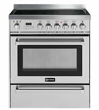 Verona VEFSEE304PSS 30  Electric Range Oven Self Cleaning Stainless Steel