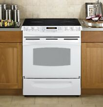 PS900DPWW GE Profile Smoothtop Electric Range in White