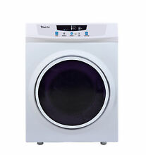 Magic Chef MCSDRY35W Portable Compact Electric Dryer 3 5 cu ft Front Load 120vt