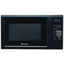 Magic Chef MCM1110B Microwave Oven 1 1 cu ft 1000 Watts Countertop Black