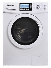 Magic Chef MCSCWD20W3 2 0 Cu Ft 24  Wide Combo Washer Dryer Ventless 115 Volts