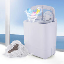 Portable Washing Machine Compact Wash Spin Dry Cycle Laundry