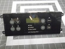 FRIGIDAIRE STOVE RANGE CONTROL BOARD W  BLACK OVERLAY  PART  316207504