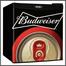 Budweiser Compact Mini Refrigerator Home Bar Beers and Soda Fridge
