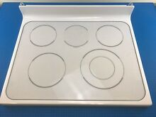 Genuine GE Electric Oven Main Glass Cooktop WB62T10281