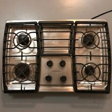 Used Kitchenaid KGCK366VSS 5 Burners Stainless Steel Cooktop Stovetop