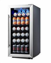 Phiestina 106 Can Stainless Steel Beverage Cooler  Refrigerator WAS  329 99