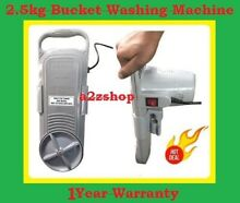 Total Sale Small Handy Washing Machine Best For Travel   Bachelors Excellent Now