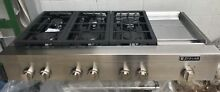 48  Jennair Cooktop 6 Burners griddle   jgcp548wp
