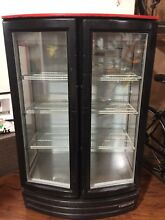 Commercial  Business  deli Coca Cola double door Fridge Refrigerator