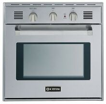 Verona VEBIG24NSS 24  Single Gas Wall Oven Built In Stainless Steel