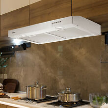 KUPPET 30  Stainless Steel Under Cabinet Range Kitchen Hood Stove Vent Fan Panel