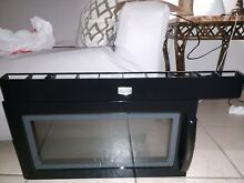 Maytag microwave door w10258196   top vent not included