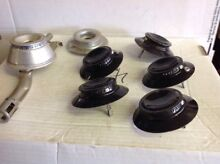 7 Gas Range Burners  No Part    They Were In My Frigidaire Area  Box103