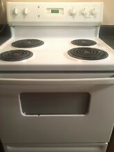 GE Kenmore Hotpoint White Electric Stove Range Single Oven 30
