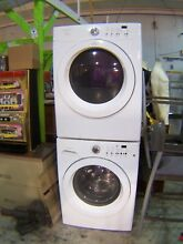 Fridgidaire Stackable Washer   Dryer  Model   FAQE7011LW0    NO SHIPPING