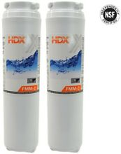 HDX FMM 2 Refrigerator Replacement Filter Fits Whirlpool Filter 4  Value Pack
