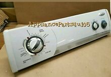 Whirlpool Dryer console with Timer 8578906 with knobs included