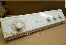 Whirlpool Dryer console with Timer and switches and knobs included 3406048