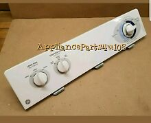 GE washer console with Timer 175D4232P016 with knobs included