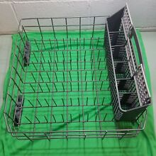 Kenmore Elite dishwasher lower rack with silverware basket W10199774 WPW10525642